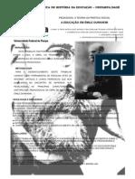 BANNER MOSTRA HISTÓRIA DA EDUCAÇÃO  - Camila, Rose, Matheus, Mateus e Rutielen
