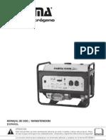 Manual Grupo Electrógeno Gamma 6500e se