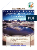 Waste Water Operator Study Manual