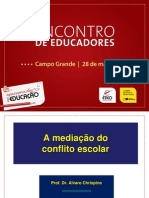A Mediacao Do Conflito Escolar