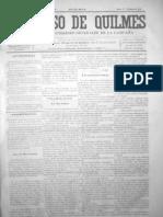 EL PROGRESO DE QUILMES 31 Domingo 30 de Noviembre de 1873