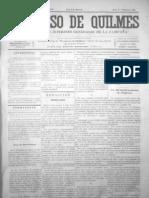 EL PROGRESO DE QUILMES 32 Domingo 7 de Diciembre de 1873