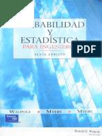 Probabilidad y Estadística para Ingeniería  6Ed _ Walpole Mayers Mayers