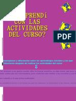 ACTIVIDAD 5 Que Aprendi Con Las Actividades Del Curso