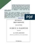 Brevi Risposte Alle Lettere Del Signor Gladstone (1851)