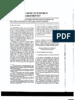 Enforcing Mediation Agreements