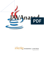 Java Nat Ed Documentation