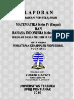 Matematika Kelas IV dan Bahasa Indonesia Kelas V