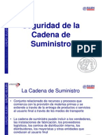 Seguridad de la Cadena de Suministro - Ponencia Profesionales IT - 2009