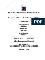Prospects of Islamic Credit Cards in Pakistan