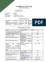 Works Resume - Rachmadi I.