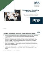 ICS Management Consulting Training