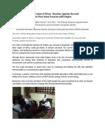 LGBTI rights in Rwanda, Uganda and Burundi