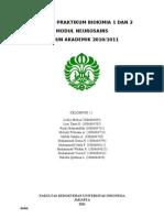 Laporan Praktikum Biokimia 1 Dan 2