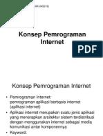 01 Pemrograman Internet