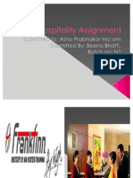 Hospitality Assignment.ppt Role Play