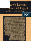 Bagnall & Cribiore - Women's Letters From Ancient Egypt