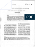 A Comparison of Heuristics Search Algorithms for Molecular Docking
