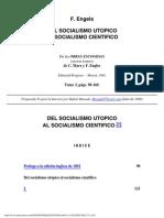 Del socialismo utópico al socialismo científico.