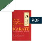 LIVRO - Os Vinte Principios Fundamentais Do Karate