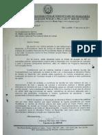 Ampem - ofício sobre reunião do CNPG em Barreirinhas