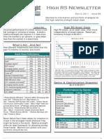 High RS Newsletter 05.02.11
