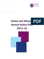 Criminal Justice System of Northern Ireland - Annual Action Plan 2011-12