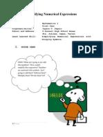 Strategic Intervention Materials (Mathematics I  -  S.Y. 2011 - 2012)