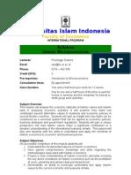Islamic Micro Economics
