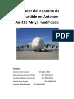 Regulador del depósito de combustible en Antonov An-225 Mriya modificado