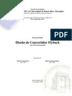 Proyecto Final - Diseño Flyback