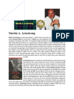 Martin Armstrong Biography May 2011