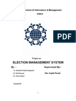 Project- Election Managemnt System