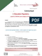 CP L EP Parmi Les 100 iD Pour Changer La France 19-06-11