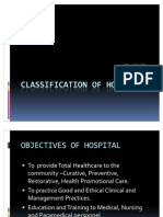 Classification of Hospitals