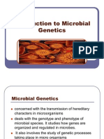 REPORT Introduction to Microbial Genetics