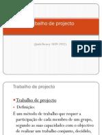 Metodologia do Trabalho de Projecto