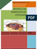 EXERCÍCIO DE CITOLOGIA