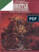 Tsr01019 - Battle System Boxed Set
