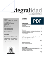 Revista Integralidad del CEMAA ed.1.