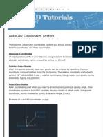 Basic Autocad Tutorial