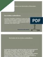 Los ácidos carboxílicos