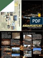 Dipticos Rutas - Andahuaylas