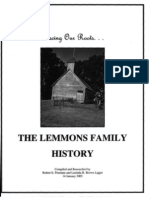 Entire Lemmons Family History Book