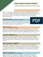 Perfil Dos Novos Ministros (Governo PSD-CDSPP 2011)
