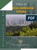 Politica de Gestion Ambiental Urbana