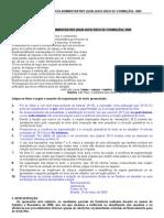 CESPE - ANTAQ -  ANALISTA ADMINISTRATIVO (QUALQUER ÁREA DE FORMAÇÃO)- 2009