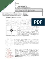 Guía I Medio Configuración Electrónica Química Lab