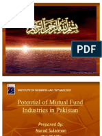 Potential of Mutual Fund Industries in Pakistan