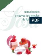 Texturizantes Nuevas Tecnologias Sabores